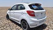 Ford Figo Sports Edition (Ford Figo S) rear three quarters at Rann of Kachchh