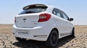 Ford Figo Sports Edition (Ford Figo S) rear three quarters right side review