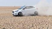 Ford Figo Sports Edition (Ford Figo S) turning left