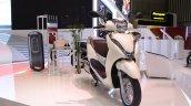 Honda Lead 125 at Vietnam Motorcycle Show front three quarter
