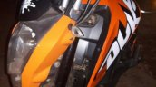 Honda Navi modified as KTM Duke 200 headlamp