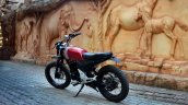 Honda Unicorn 150 Scrambler by Furious Customs rear three quarter left