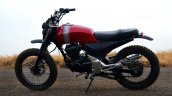 Honda Unicorn 150 Scrambler by Furious Customs side left