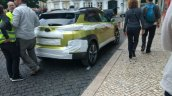 Hyundai Kona rear three quarters Portugal spy shot