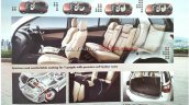 Indian-spec Isuzu MU-X brochure leaked image cabin second image