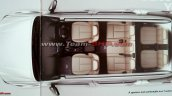 Indian-spec Isuzu MU-X brochure leaked image cabin