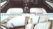 Indian-spec Isuzu MU-X brochure leaked image interior