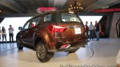 Isuzu MU-X rear quarter launched in India image