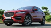 Jaguar F-Pace R-Sport SUV front low Review