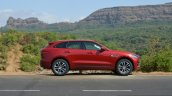 Jaguar F-Pace R-Sport SUV side far Review