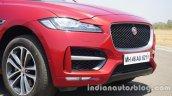 Jaguar F-Pace front fascia
