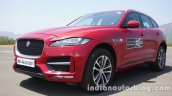 Jaguar F-Pace front three quarters left side standstill second image