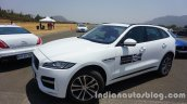 Jaguar F-Pace front three quarters left side
