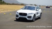 Jaguar F-Pace front three quarters