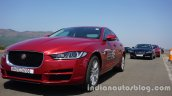 Jaguar XE and Jaguar XF at Jaguar The Art of Performance Tour