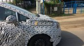 Mahindra U321 MPV front quarter panel spy shot