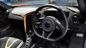 McLaren 720S steering wheel at BIMS 2017