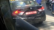 New Maruti Ciaz rear spy shot