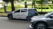 Production Mitsubishi XM left side spy shot