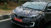 Renault Kaptur in motion spy shot Chennai