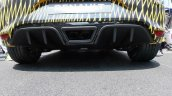 Renault Megane RS 2018 diffuser and exhaust