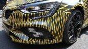 Renault Megane RS 2018 headlamp and bumper