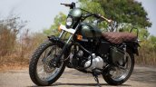 Royal Enfield Classic 350 Mr Oliver by Eimor Customs front three quarter left