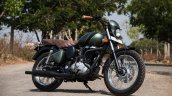 Royal Enfield Classic 350 Mr Oliver by Eimor Customs front three quarter right