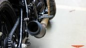 Royal Enfield Continental GT Grey Hound by TNT Motorcycles exhaust
