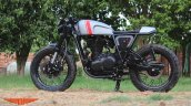 Royal Enfield Continental GT Grey Hound by TNT Motorcycles side left