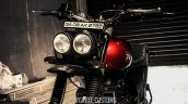 Royal Enfield Himalayan Scrambler by Grid7 Customs headlamp