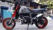 Royal Enfield Himalayan Madmax by Transfigure Custom House side left