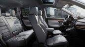 Saudi Arabian-spec 2017 Honda CR-V cabin