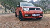 South African-spec Suzuki Ignis front three quarters left side