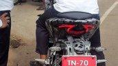 TVS Apache RR 310S clearest spy pics rear