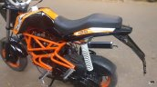 TVS Scooty customised KTM Duke 125 seat