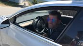 Tesla Model 3 interior second spy shot