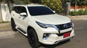 Toyota Fortuner with a 'Fiar Design' Body Kit front three quarter