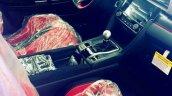 U.S.-spec 2017 Honda Civic Type R interior
