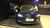 VW Tiguan front at dealer training
