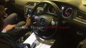 VW Tiguan interior at dealer training