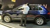VW Tiguan profile at dealer training