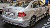 VW Vento GT rear three quarters