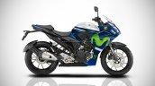 Yamaha Fazer 250 IAB Rendering MotoGP colours
