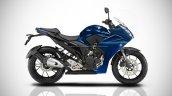 Yamaha Fazer 250 IAB Rendering blue