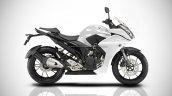 Yamaha Fazer 250 IAB Rendering white
