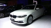 2017 BMW 5 Series Luxury Line front quarter launched