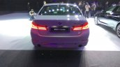 2017 BMW 5 Series Luxury Line rear launched