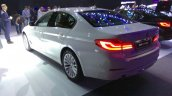 2017 BMW 5 Series Luxury Line rear three quarter launched