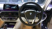 2017 BMW 5 Series Sport Line steering wheel launched